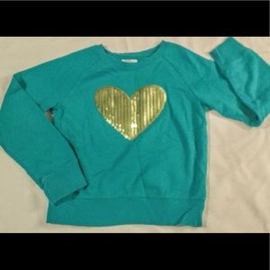 Girls Fashion sweatshirt